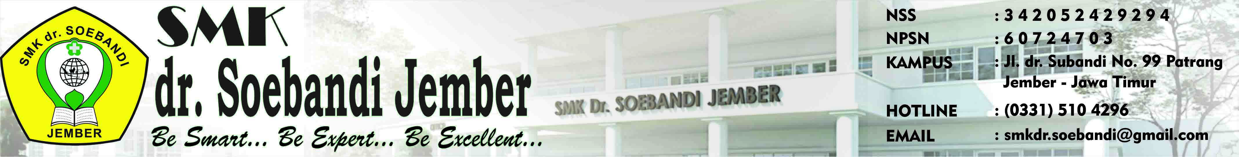 SMK Farmasi dr. Soebandi Jember | Be Smart, Be Expert, Be Excellent